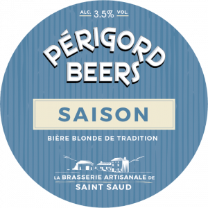 "Artisanal beer ""Saison"" from Périgord Beers"